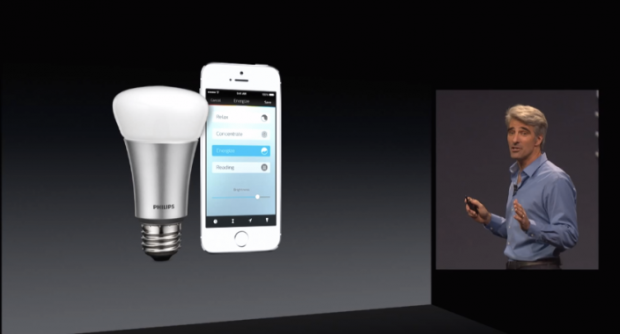 hue 620x334 LAzienda Philips pensa ad un widget di Hue Lights integrato nel centro notifiche di iOS 8