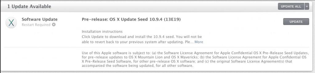 screen shot 2014 06 19 at 8 00 42 pm 1024x237 Apple rilascia OSX 10.9.4 beta 3
