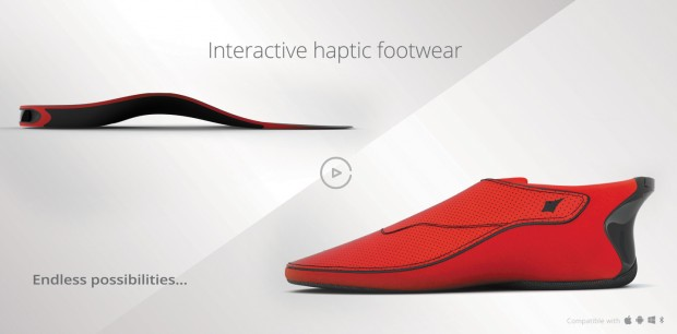 Lechal Smart Shoes 620x306 La nuova frontiera della tecnologia indossabile? Le Smart shoes!