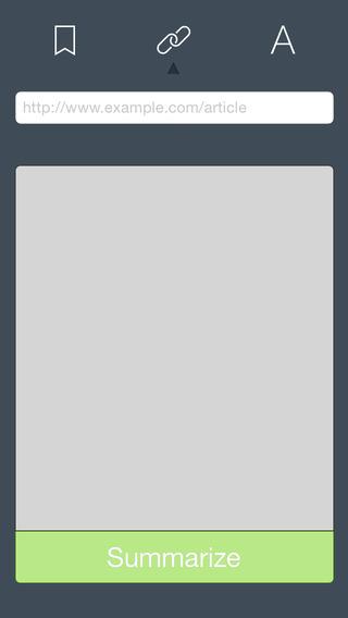 app42 Summbot unApp che permette di estrarre in maniera automatica dei riassunti di articoli presenti sul web oppure di testi