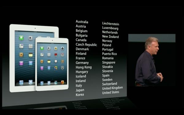 ipad mini launch countries LiPad si conferma il top nel mercato dei tablet con ottimi risultati