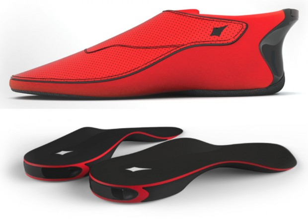 lechal shoes 620x441 La nuova frontiera della tecnologia indossabile? Le Smart shoes!