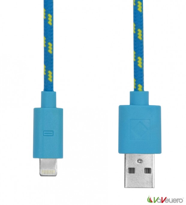 rope cable lighting blue 620x683 VaVeliero: il cavo Lightning per iDevice in stile Nautico