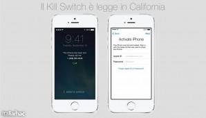 Il Kill Switch è legge in California