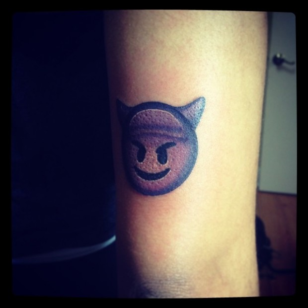 Tattoo Emoji - Devil