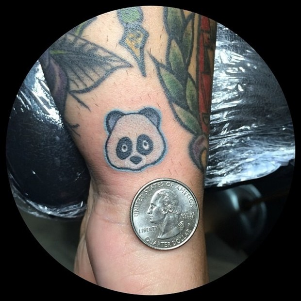 Tattoo Emoji - Panda