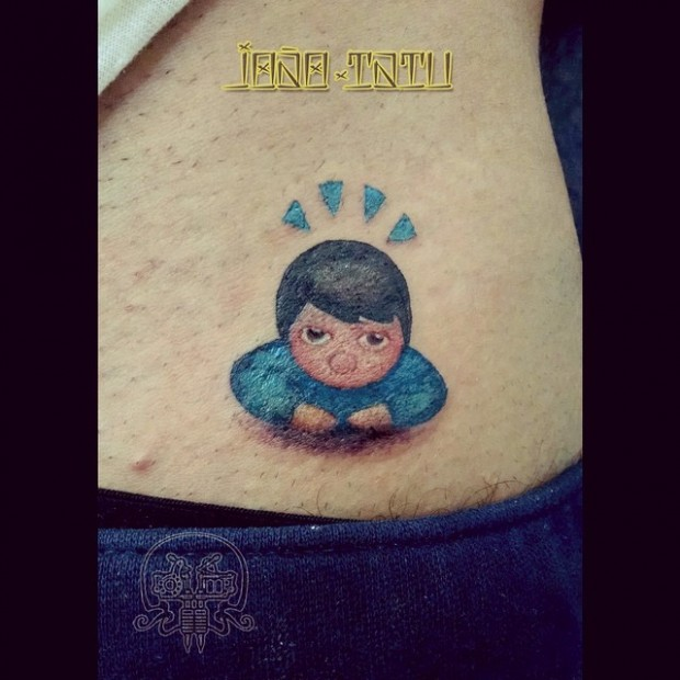 emoji tattoo - boy