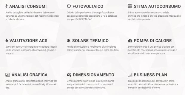 pvsol 620x319 PVSol: questa app permette di calcolare irraggiamento solare e produzione di energia fotovoltaica mensile per una qualsiasi località europea.
