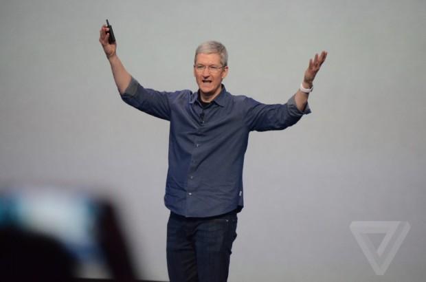 AppleEvent 620x410 La lettera di Tim Cook ai dipendenti: Un giorno incredibile per Apple