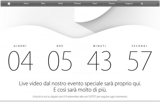apple9settembre 620x396 La presentazione del nuovo iPhone sarà trasmessa in live streaming da Apple
