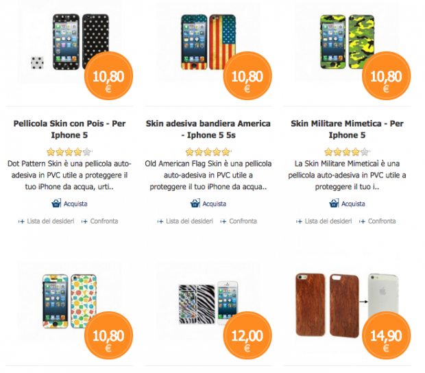 clipperStore4 620x544 Clipper Store, è tempo di saldi, il 30% su tutta la categoria Mobile