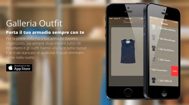 dressup 620x344 DressUp è unApp, un outfit manager, che dà la possibilità allutente di creare combinazioni di vestiti con tutto quello che è stato fotografato e classificato
