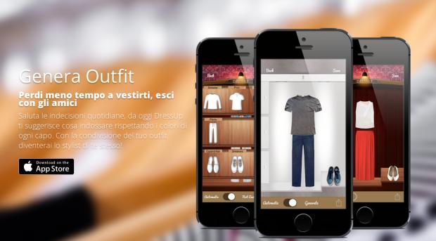 dressup2 620x343 DressUp è unApp, un outfit manager, che dà la possibilità allutente di creare combinazioni di vestiti con tutto quello che è stato fotografato e classificato