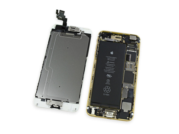 ifixit4 [immagini + Video ] iFixit: iPhone 6 Plus in tutto il suo splendore