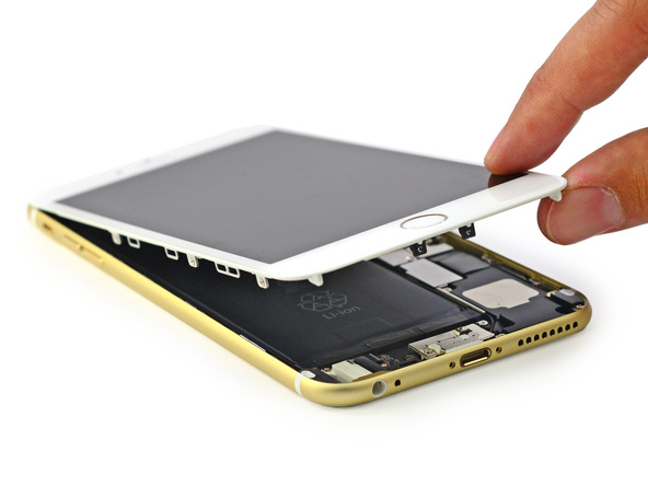 iphone2 [immagini + Video ] iFixit: iPhone 6 Plus in tutto il suo splendore