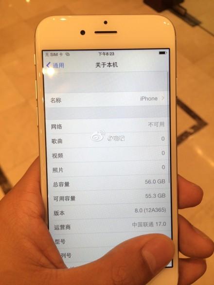 iphone6rumor [Rumors] Nuove immagini ed un video ritraggono un iPhone 6 perfettamente funzionante