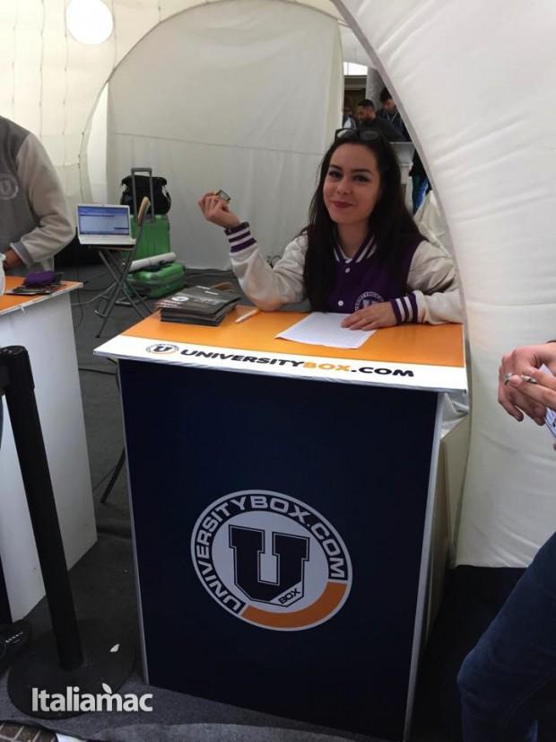 University Box Tucano politecnico bari 2 620x826 Foto: Italiamac partecipa al Tour University Box di Tucano