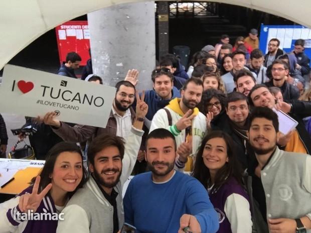 University Box Tucano politecnico bari 3 620x464 Foto: Italiamac partecipa al Tour University Box di Tucano