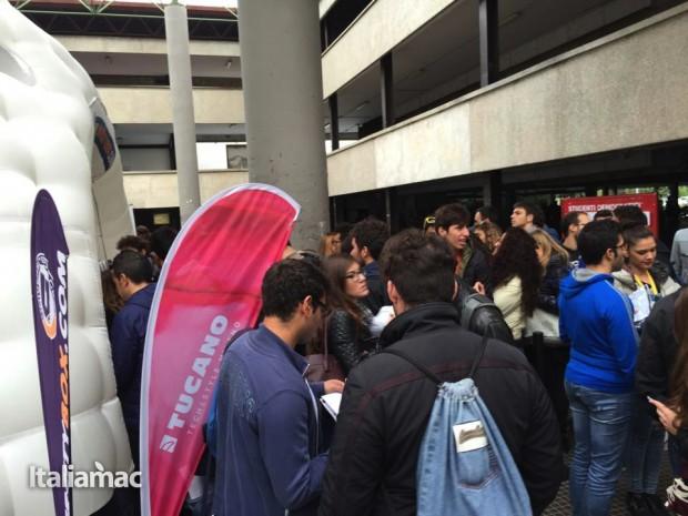 University Box Tucano politecnico bari 8 620x465 Foto: Italiamac partecipa al Tour University Box di Tucano