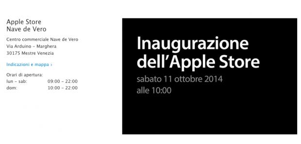 applestore 620x297 Sabato 11 ottobre, aprirà un nuovo Apple Store, Nave de Vero a Marghera, in provincia di Mestre