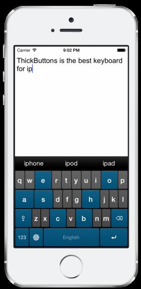 ThickButtons: la tastiera per iPhone pensata per chi ha le dita grandi