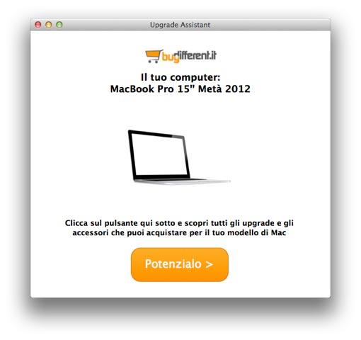 potenzia il tuo mac [Aggiornato] BuyDifferent: Bonus Upgrade da 25 Euro per potenziare i vostri Mac.