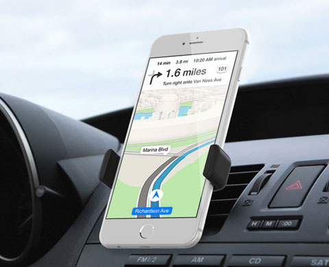 airframe plus safely in view r1a Nuovi supporti per iPhone da scrivania ed auto della Kenu.
