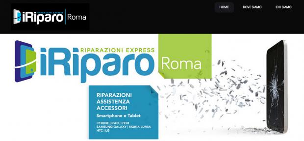 iRiparo Roma 620x287 iRiparo: nuovo sito, servizio su Rai 3 e nuove coperture a Roma