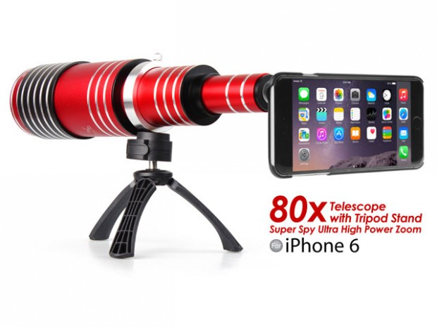 Foto 17 12 14 21 47 09 620x465 Recensione: iPhone 6 Super Spy Ultra High Power Zoom 80X telescopio con treppiede