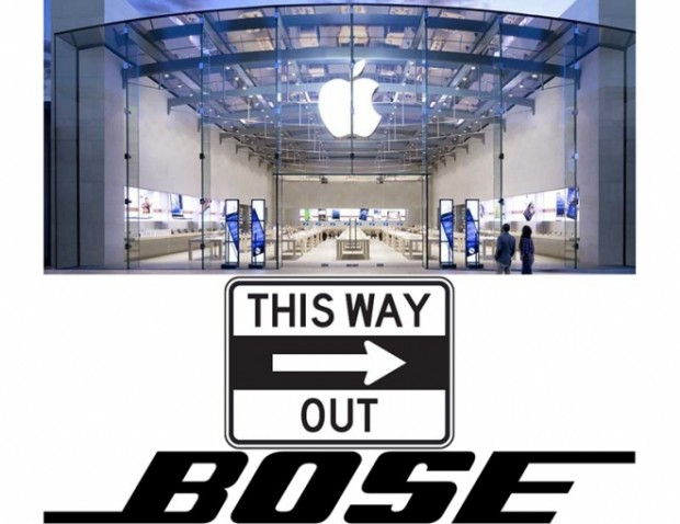 Bose This way out