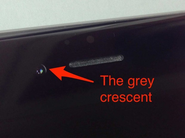 iphone 6 camera misaligned 3 620x465 Crescent Gate: iPhone 6 ed un disallineamento della fotocamera frontale