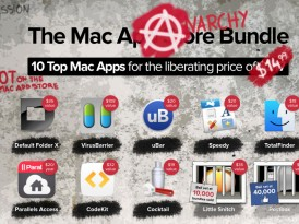 Uitlmo giorno * MacHeist Anarchy Bundle, 10 app per Mac a $14,99 + 1 in regalo senza acquisto