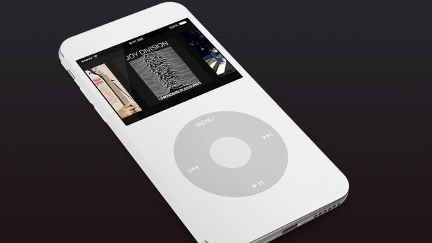 Schermata 2015 01 06 alle 11.30.39 620x349 [Concept] iPhone 6 e iPhone 6 Plus si trasformano in un iPod Classic