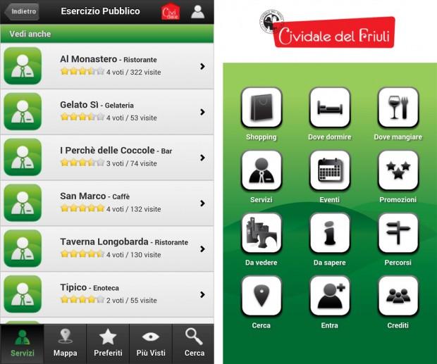 app cividale 03 620x517 La app di Cividale del Friuli. La città in tasca: una municipalità a portata di tutti