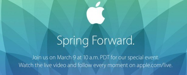apple evento 9 03 2015 Evento Apple 9 marzo: Spring Forward con tante novità, anche lApple Watch?