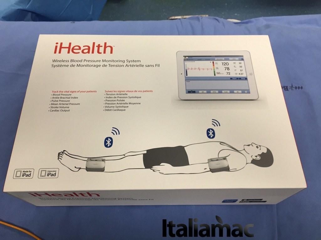 cardiolab ihealth12 DoctorShop, CardioLab iHealth un sistema di monitoraggio cardiovascolare wireless