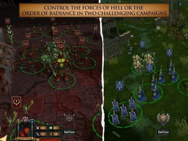 hell fight for gilrand 2 620x465 Hell: Fight for Gilrand, gioco per iPad
