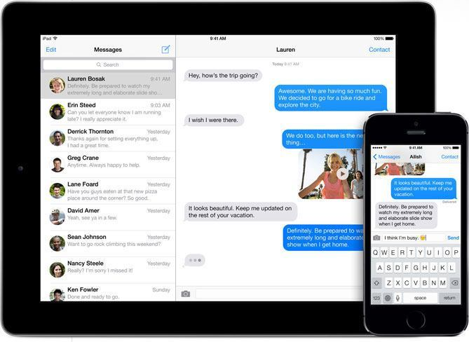 imessage ipad iMessage e FaceTime, sicurezza raddoppiata