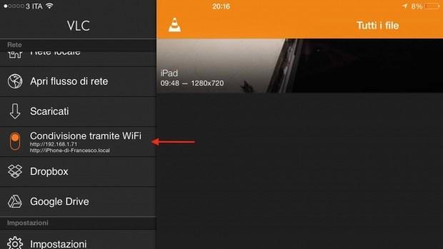 vlc iphone 6 plus 9 620x349 Il player video VLC per iOS è di nuovo disponibile nellApp Store