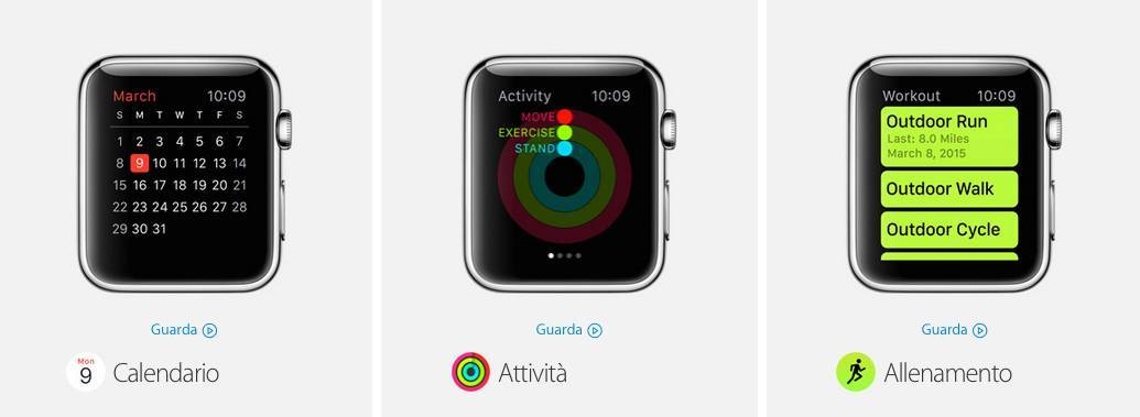app apple watch1 Tutte le App native dellApple Watch