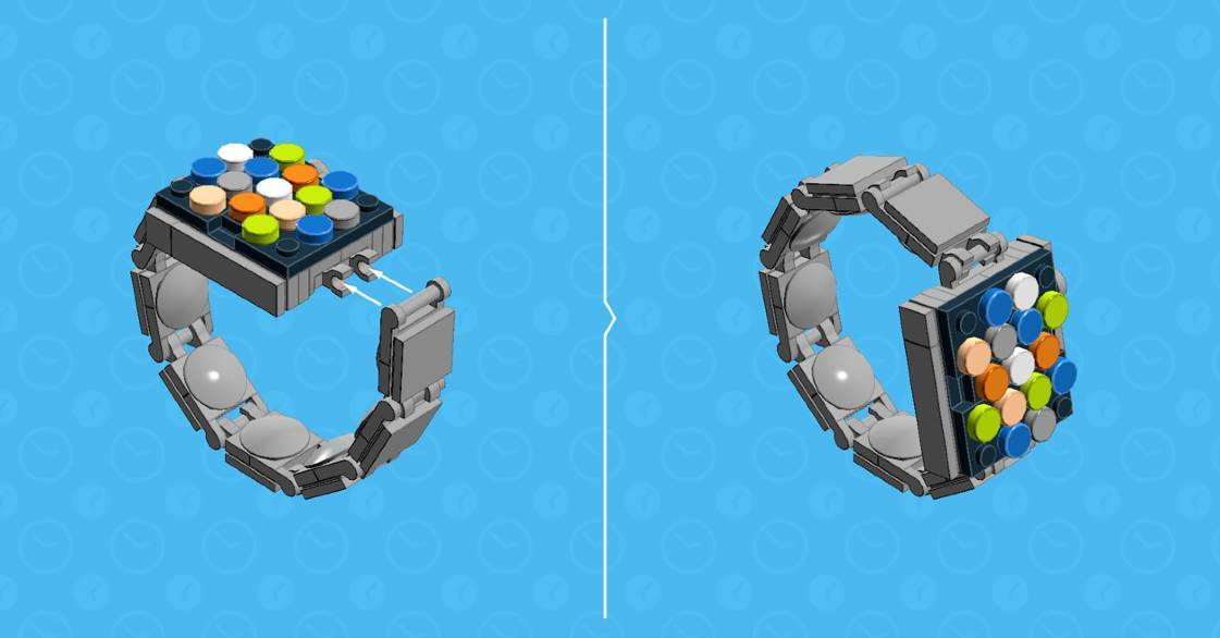 apple watch lego Costruisci anche tu lApple Watch con i mattoncini Lego