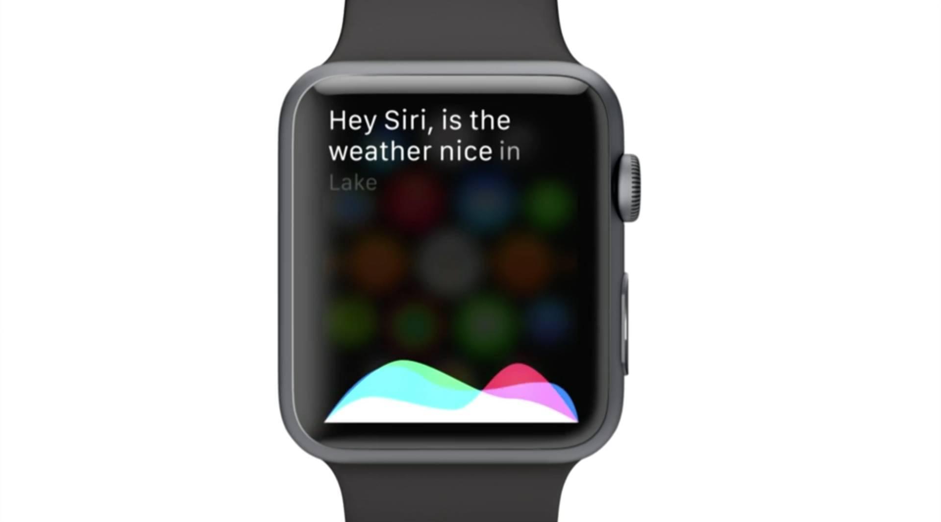 apple watch siri Innovazione in ogni interazione con lApple Watch