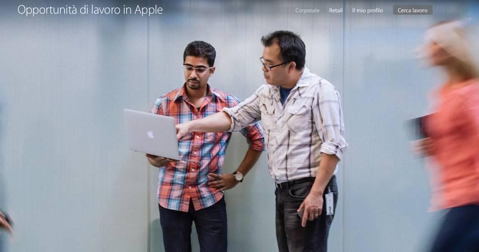 apple6 Apple cerca dipendenti: in Italia