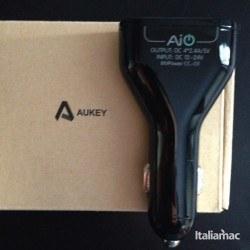 aukey car charger usb quad port 21 250x250 La prova di Aukey Quad USB Port Car Charger, caricatore da auto per smartphone