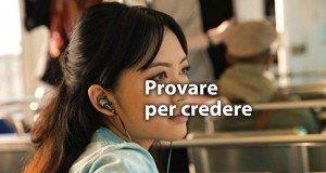 Test Auricolari Apple Store