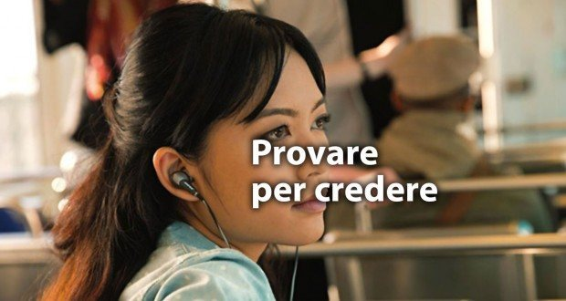Test Auricolari Apple Store