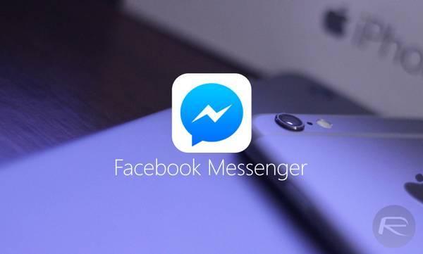 facebook messenger iphone 6 Facebook Messenger integra App di terze parti per inviare i contenuti speciali