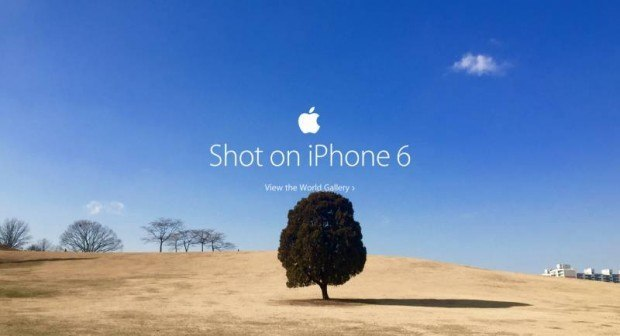 scattate con iphone 6 620x336 Scattata con iPhone 6 fa capolino nella home page di Apple