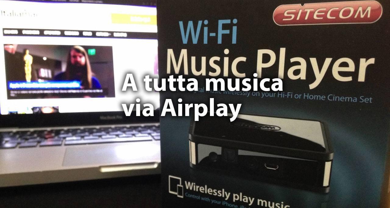 Wi-Fi- Music Player