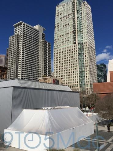 yerba buena center1 Curiosa struttura fuori dallo Yerba Buena Center, a cosa servirà?